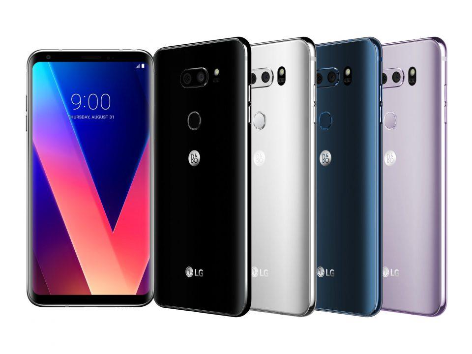 معرفی گوشی موبایل LG V30 Plus