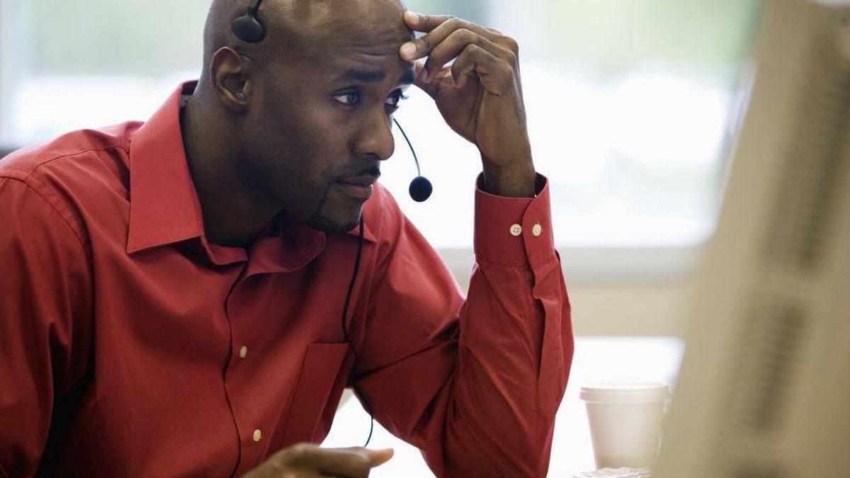 غلبه بر استرس در زمان تماس با مشتری