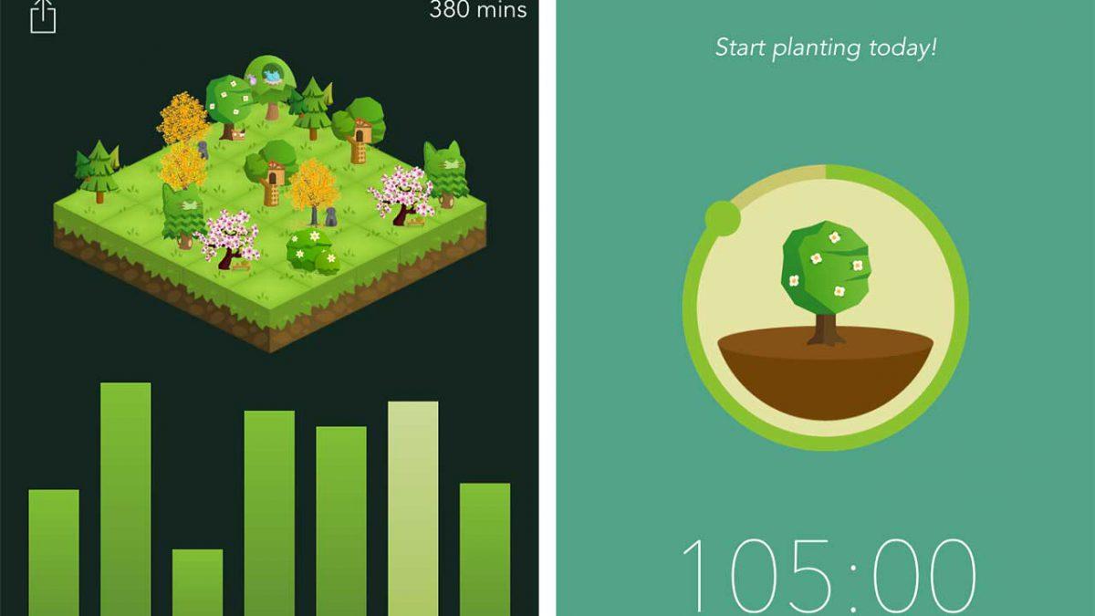 معرفی اپلیکیشن Forest