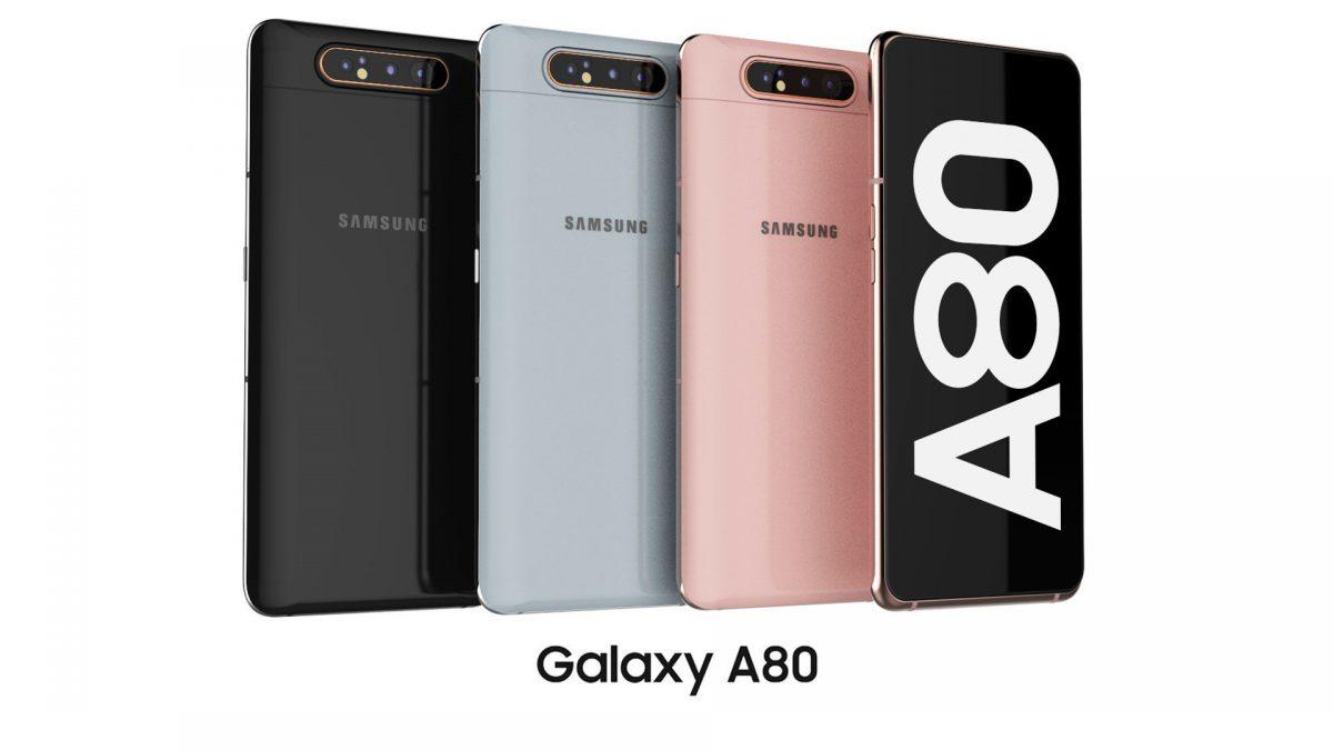 معرفی گوشی موبایل Samsung Galaxy A80