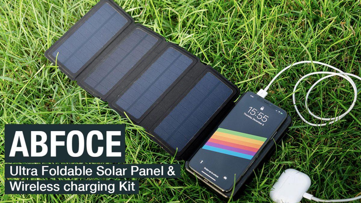 ABFOCE: کیت شارژ خورشیدی و بی سیم