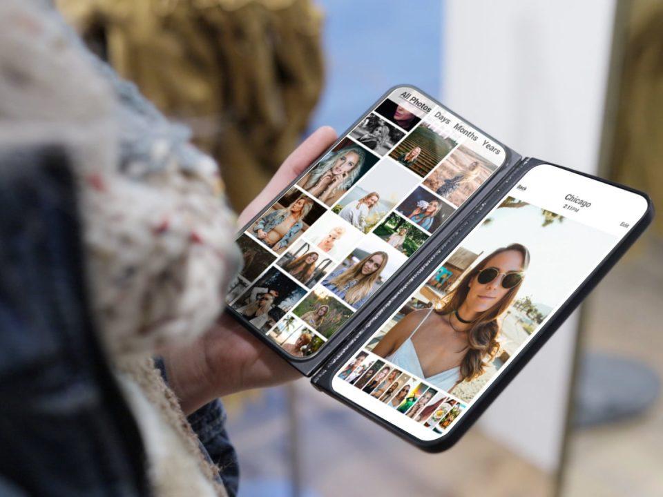 نمایشگر دوم برای گوشی های هوشمند