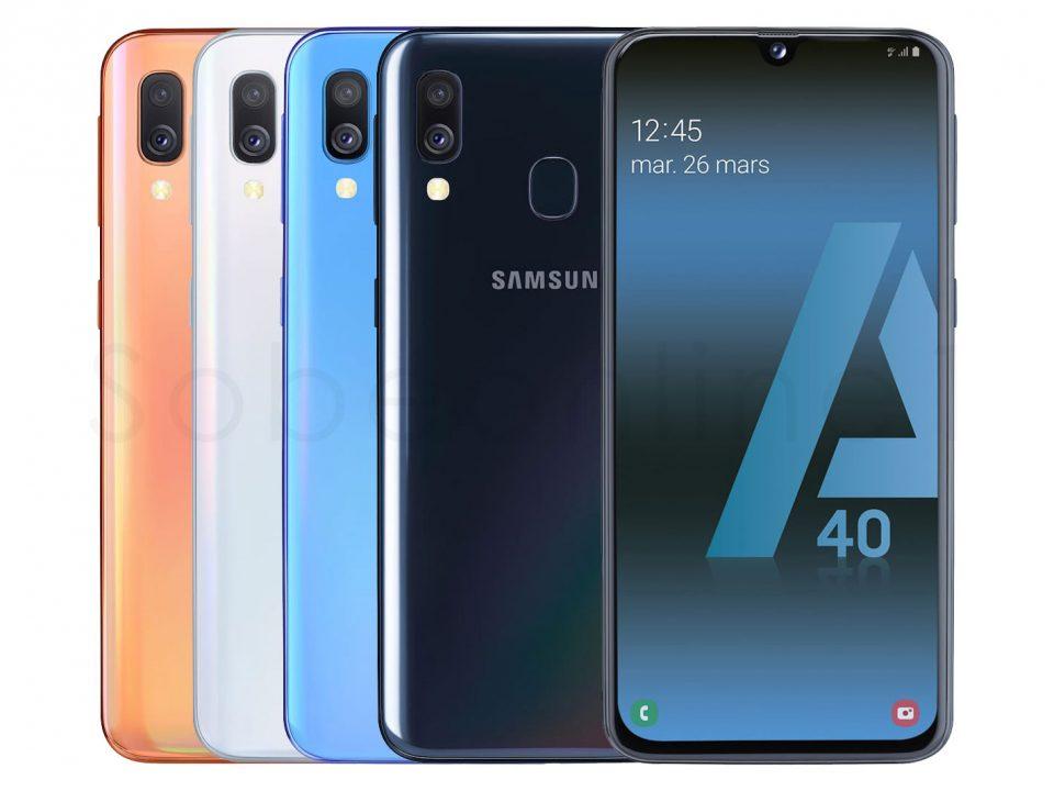 معرفی گوشی موبایل Samsung Galaxy A40