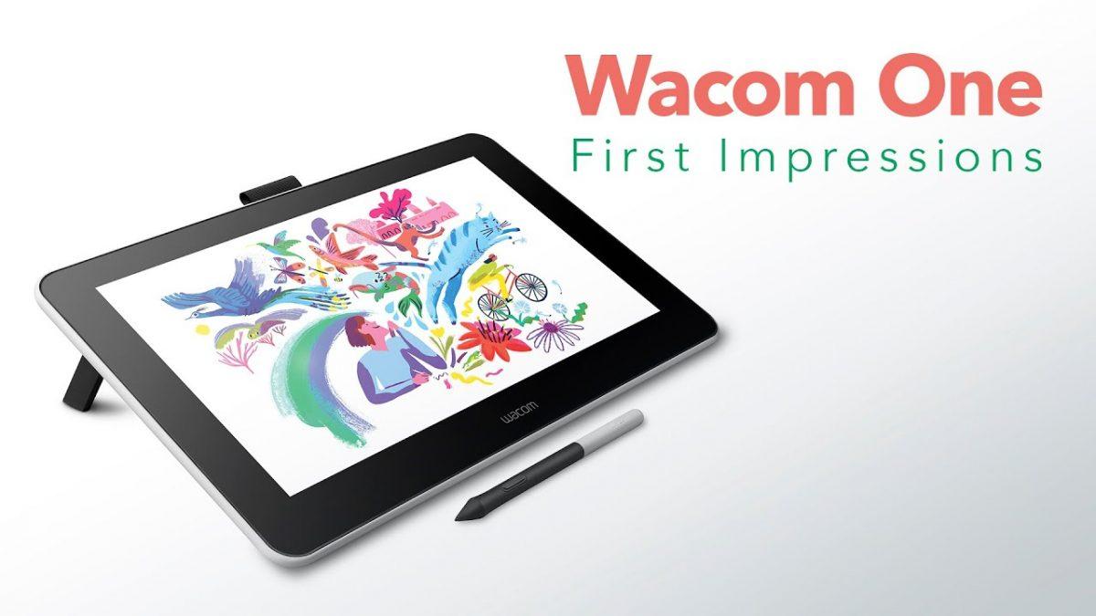 تبلت Wacom One مناسب برای هنرمندان!