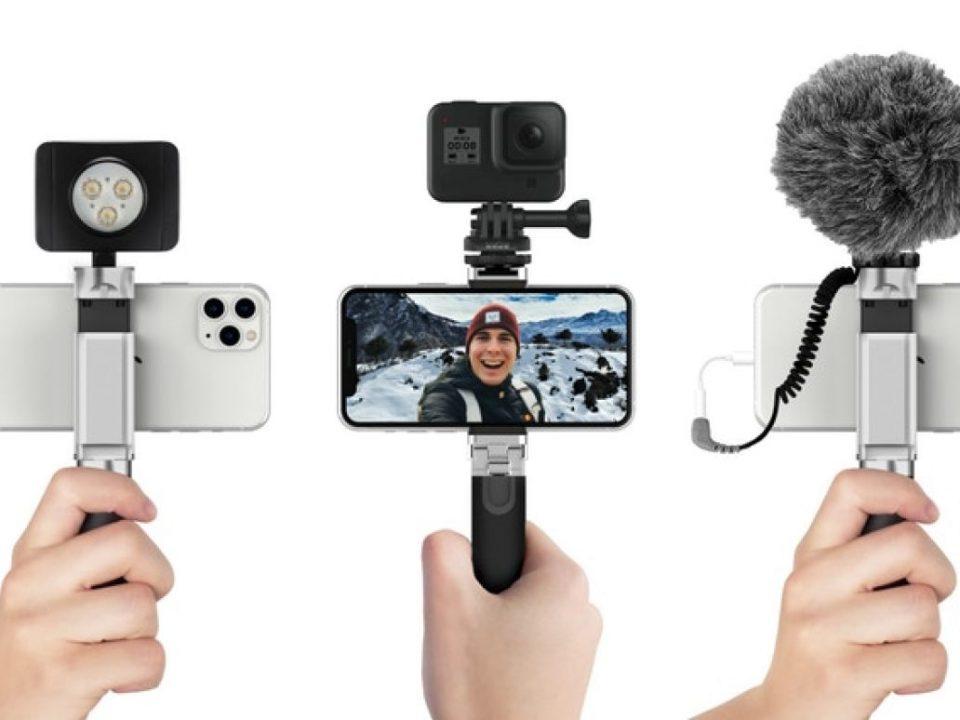 Shutter Grip 2: دستیار عکاسی با گوشی هوشمند
