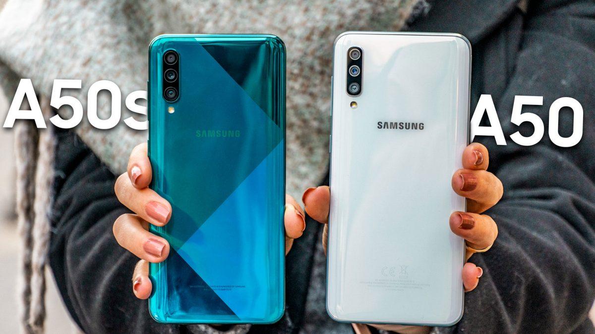 مقایسه گوشی های موبایل سامسونگ گلکسی A50 با A50s و A51