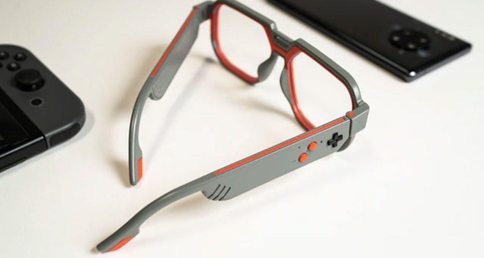 MUTRICS GB-30: اولین عینک ویژه گیمرها