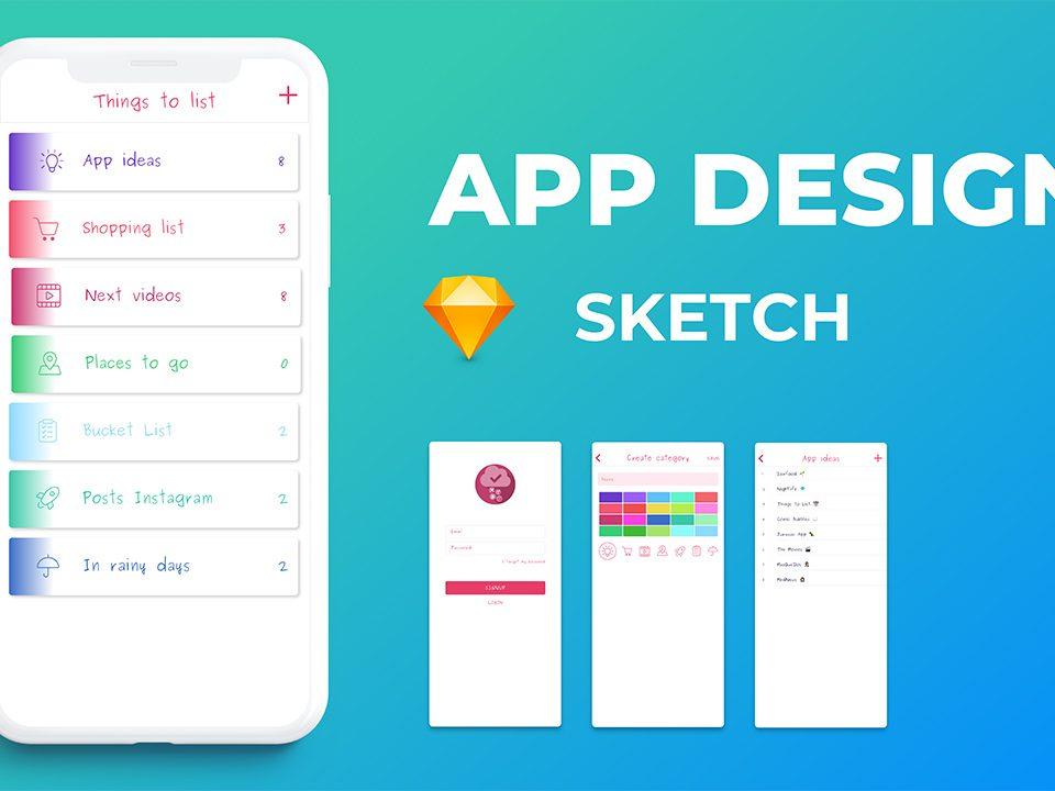 طراحی اپلیکیشن با Sketch