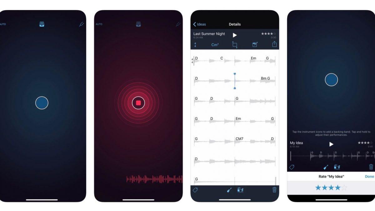 معرفی اپلیکیشن ضبط موسیقی Music Memos