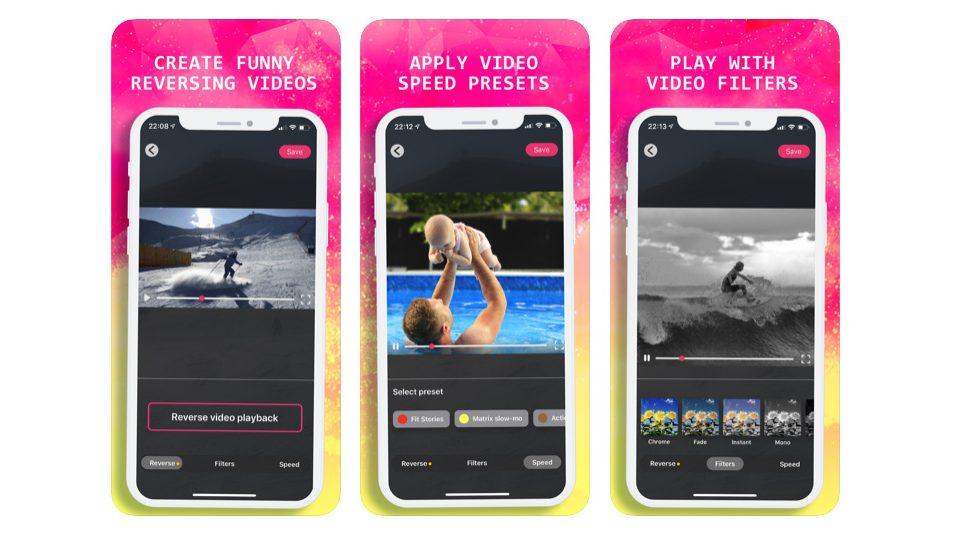 امروز اپلیکیشن Reverse Video را رایگان دانلود کنید