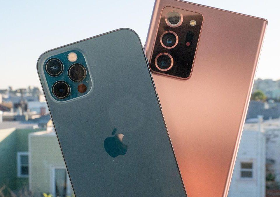 مقایسه دوربین iPhone 12 Pro و Galaxy Note 20 Ultra