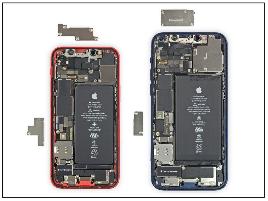 کالبدشکافی iPhone 12 mini