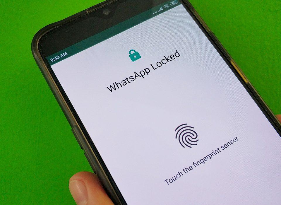 آموزش قفل کردن واتس اپ با اثر انگشت در اندروید